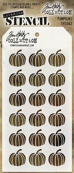 Stampers Anonymous - Tim Holtz - Pumpkins Stencil