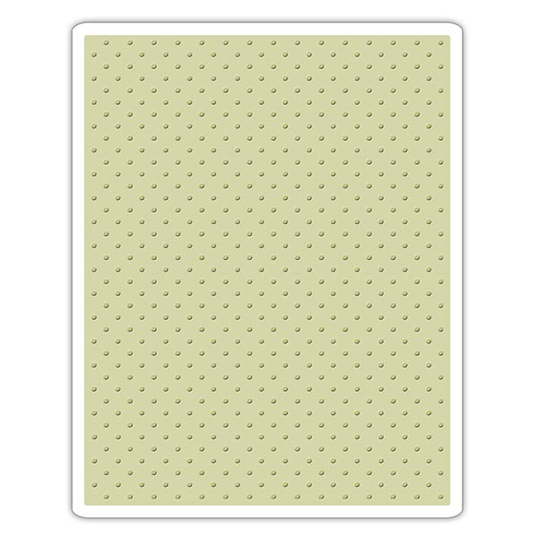 Sizzix - Tim Holtz Alterations - Texture Fades Embossing Folder - Tiny Dots