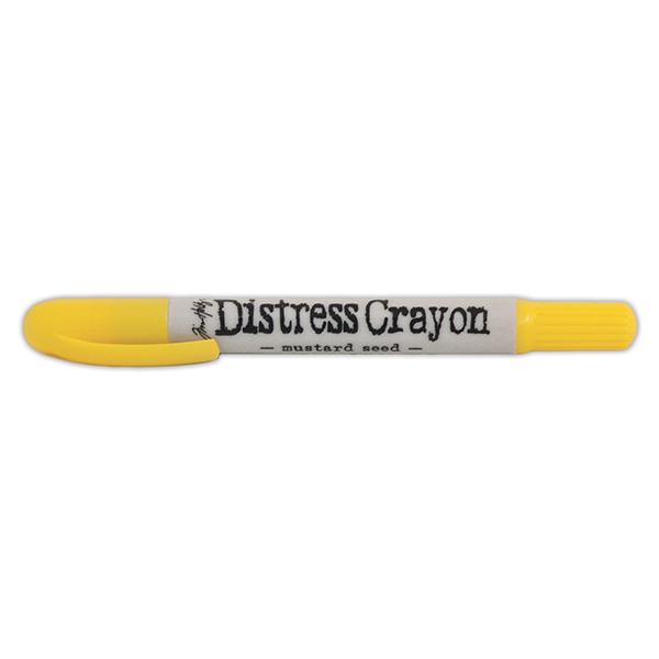 Ranger - Tim Holtz - Distress - Crayons - Open Stock - Mustard Seed