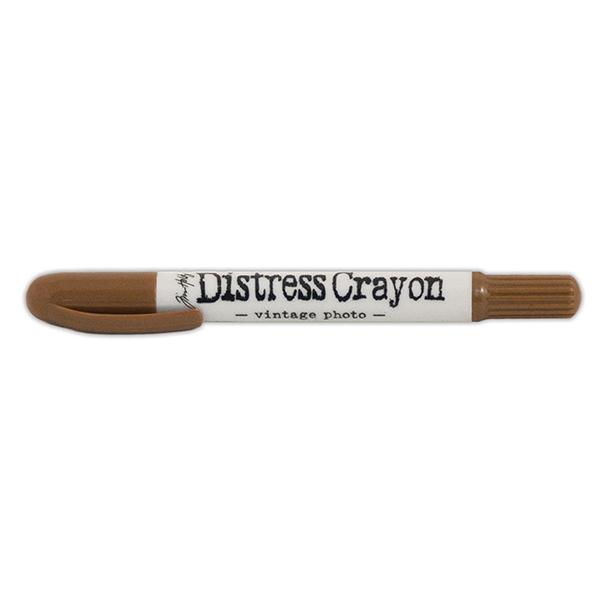 Ranger - Tim Holtz - Distress - Crayons - Open Stock - Vintage Photo