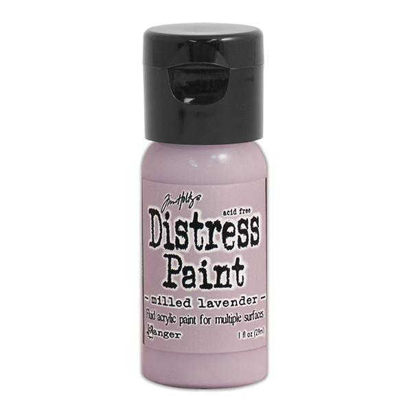 Ranger - Tim Holtz - Distress Paint Flip Cap - Milled Lavender 1 oz