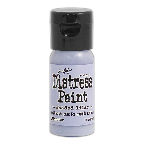 Ranger - Tim Holtz - Distress Paint Flip Cap - Shaded Lilac 1 oz