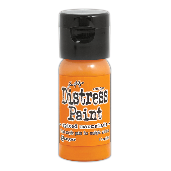 Ranger - Tim Holtz - Distress Paint Flip Cap - Spiced Marmalade 1 oz