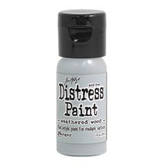 Ranger - Tim Holtz - Distress Paint Flip Cap - Weathered Wood