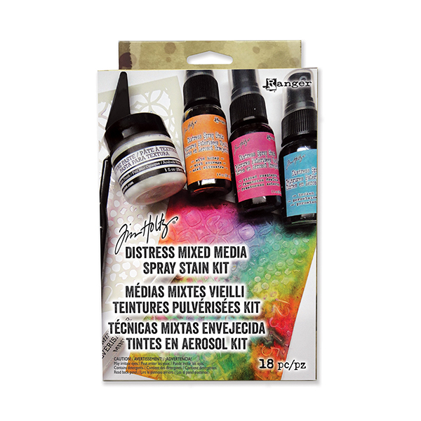 Ranger - Tim Holtz - Distress Mixed Media Spray Stain Kit
