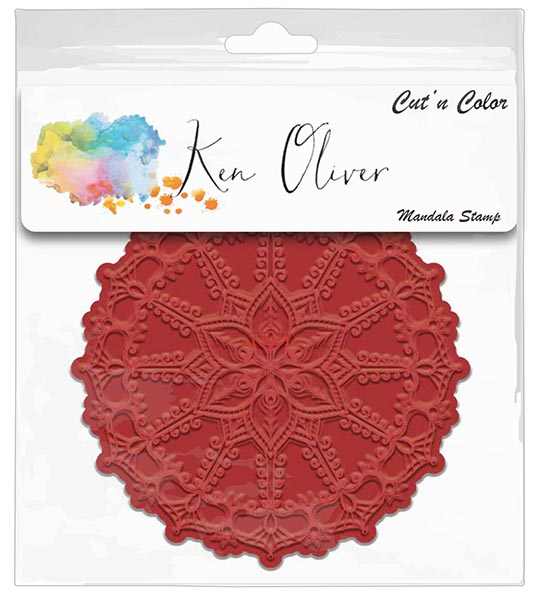 Ken Oliver - Cut 'n Color - Mandala  Stamp