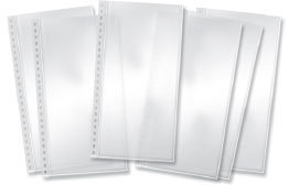 Zutter - Teresa Collins - Pre Punched Page Protectors - 6x12 - 6pk