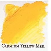 Professional Permalba Cadmium Yellow Medium: 37ml Tube