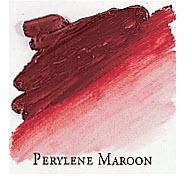 Professional Permalba Perylene Maroon: 37ml Tube