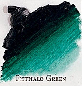 Professional Permalba Phthalo Green: 37ml Tube
