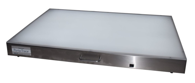 "Gagne Porta-Trace Lightbox: 36"" x 48"", Stainless Steel Frame"