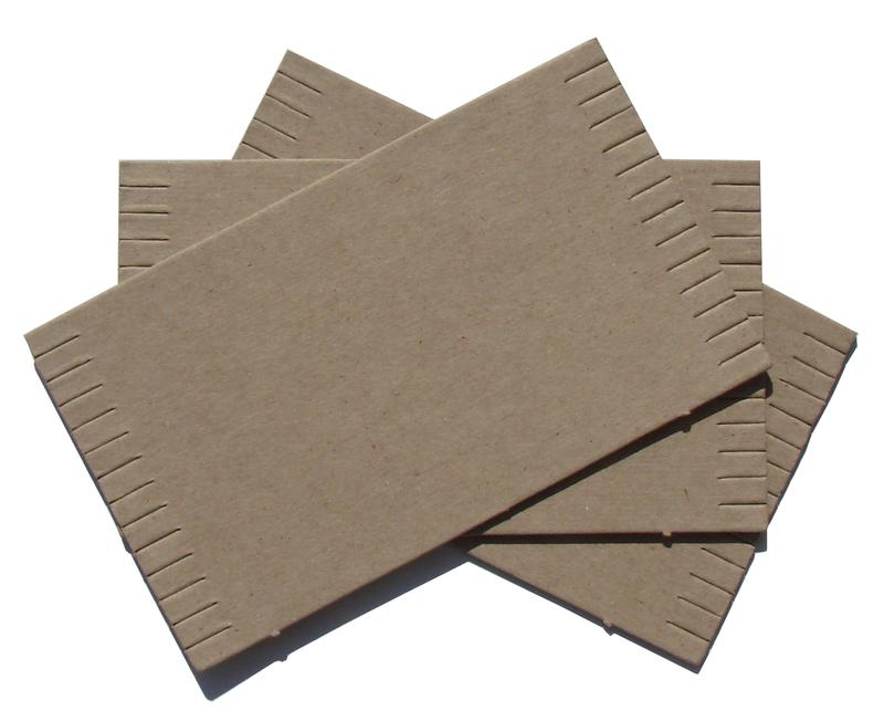 """Inovart Cardboard Mini Looms 3-1/2"""""""" x 6"""" - Package Of 24 Looms"""