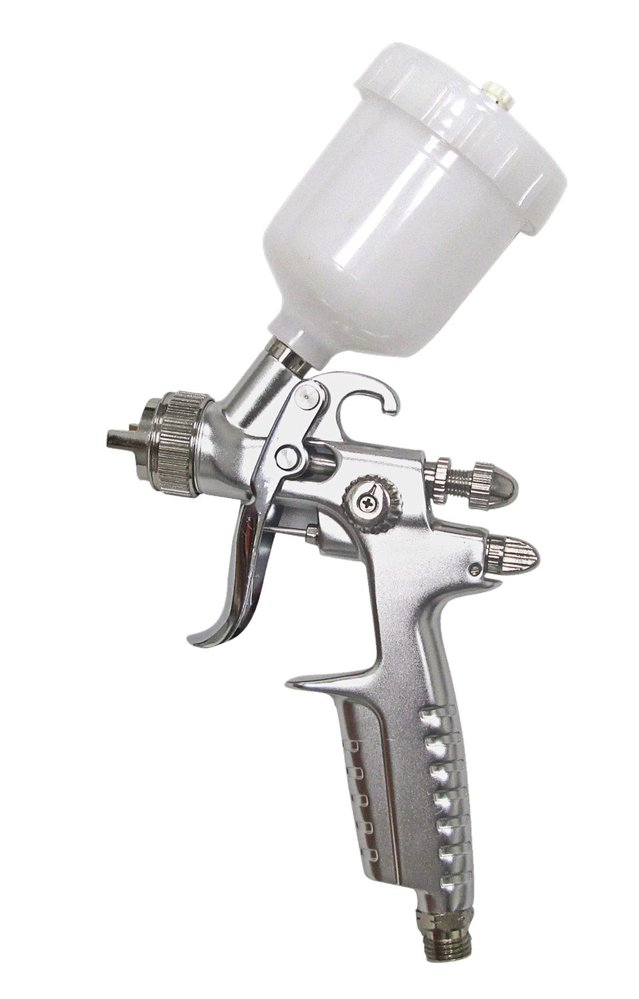 SPRAYIT SP-33500 LVLP Mini Gravity Feed Spray Gun & 0.8mm Needle Kit