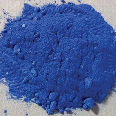 Pigment: Azurite, Fine Grind