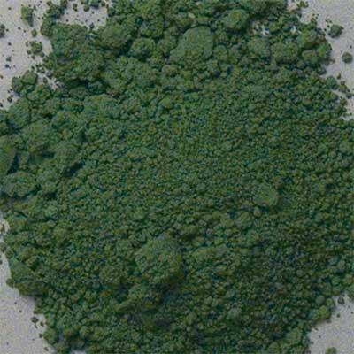 Pigment: Chromium Oxide Green