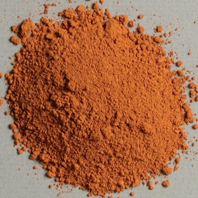 Pigment: Orange Ocher (Havane)