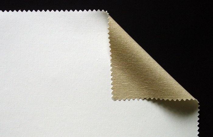 587-Cotton, Medium Weave, Acrylic-Primed