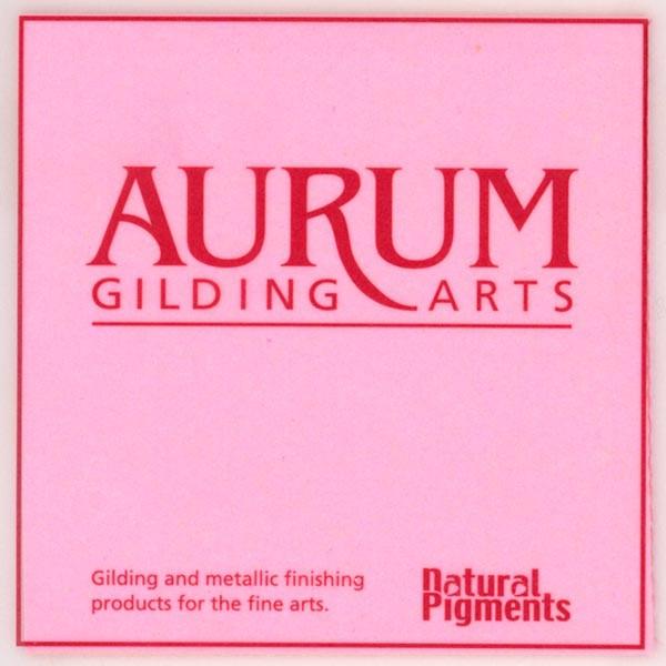 Aurum Patent Gold Leaf 23.5 Karat (Book)