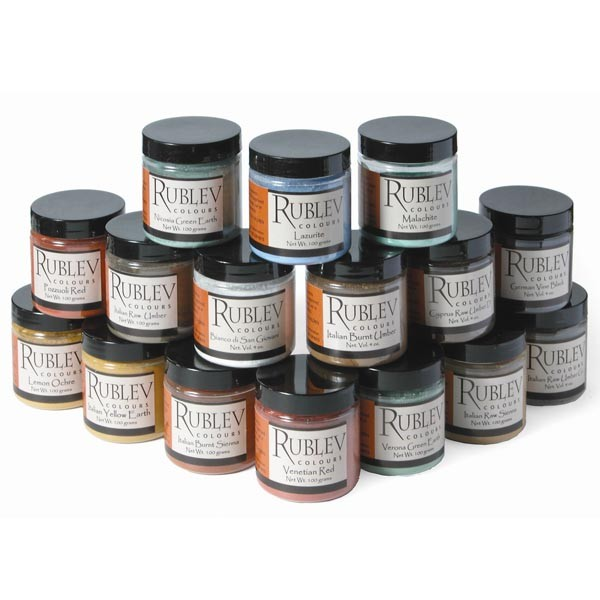 Historical Fresco Pigment Set