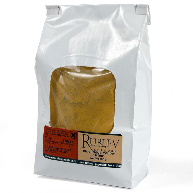 Blue Ridge Yellow Ocher 1 kg
