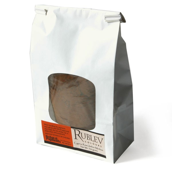 Cyprus Raw Umber Medium 500 g