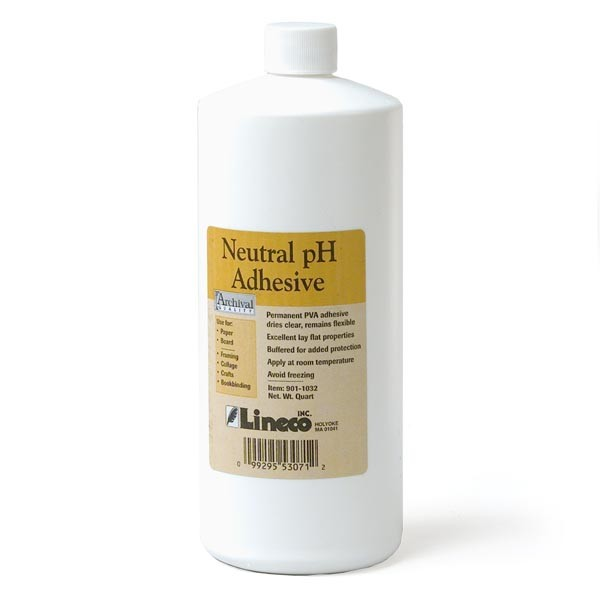 Neutral pH PVA Adhesive qt