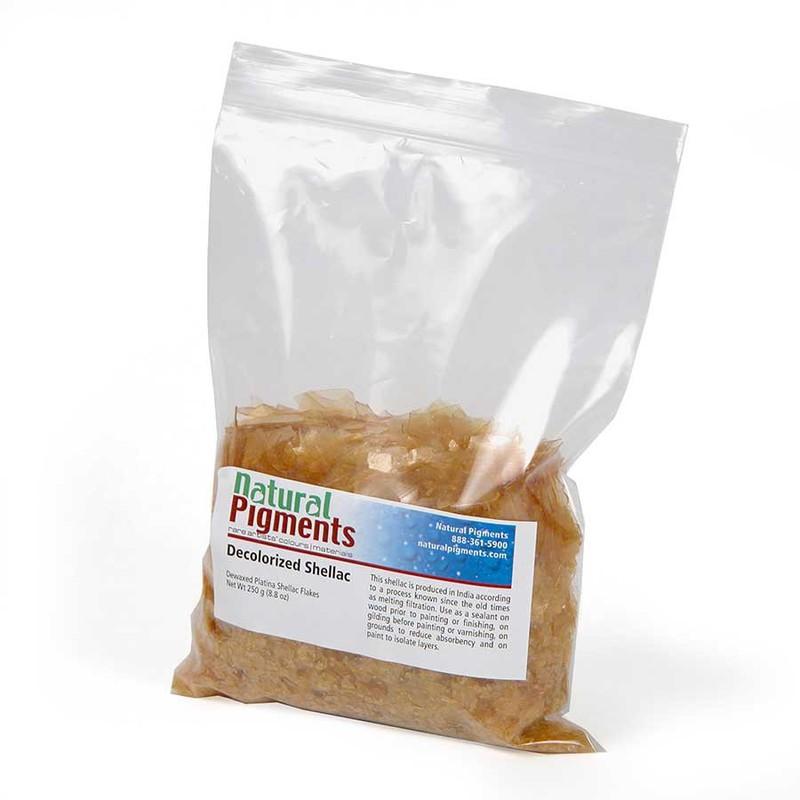 Platina Dewaxed Shellac Flakes (250 g)