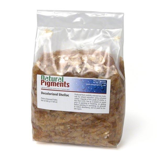 Platina Dewaxed Shellac Flakes (1 kg)