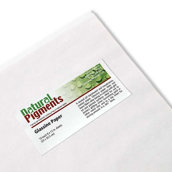 Glassine Paper (9 x 11 Inch Sheets)