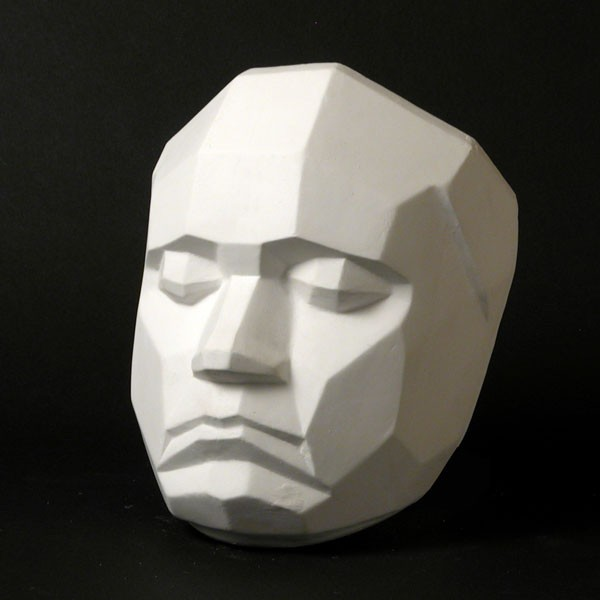 Drawing Plaster Cast Face (Planar)