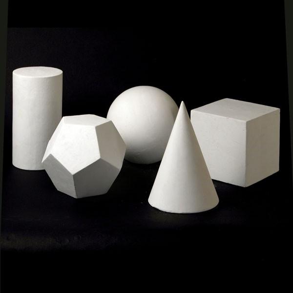 Drawing Plaster Cast Basic Shape Set