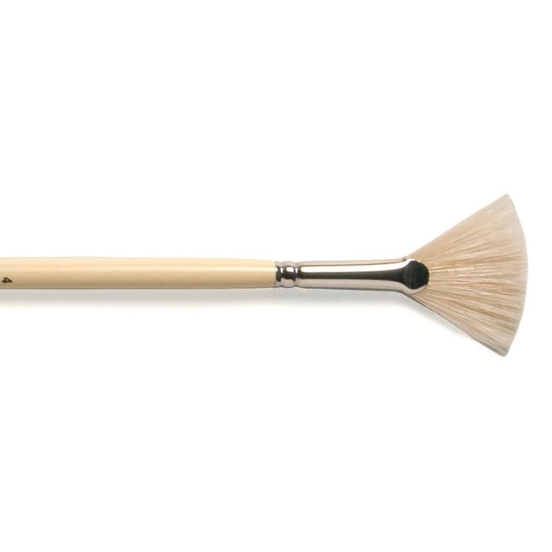 Kolibri  Bristle Fan Brush Size 4