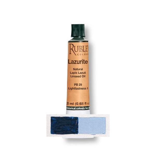 Rublev Colours Lazurite (Lapis Lazuli) Oil Paint (20 ml)