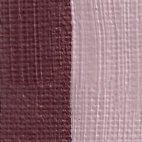 Rublev Colours Crimson Ocher Artist Oil Swatch