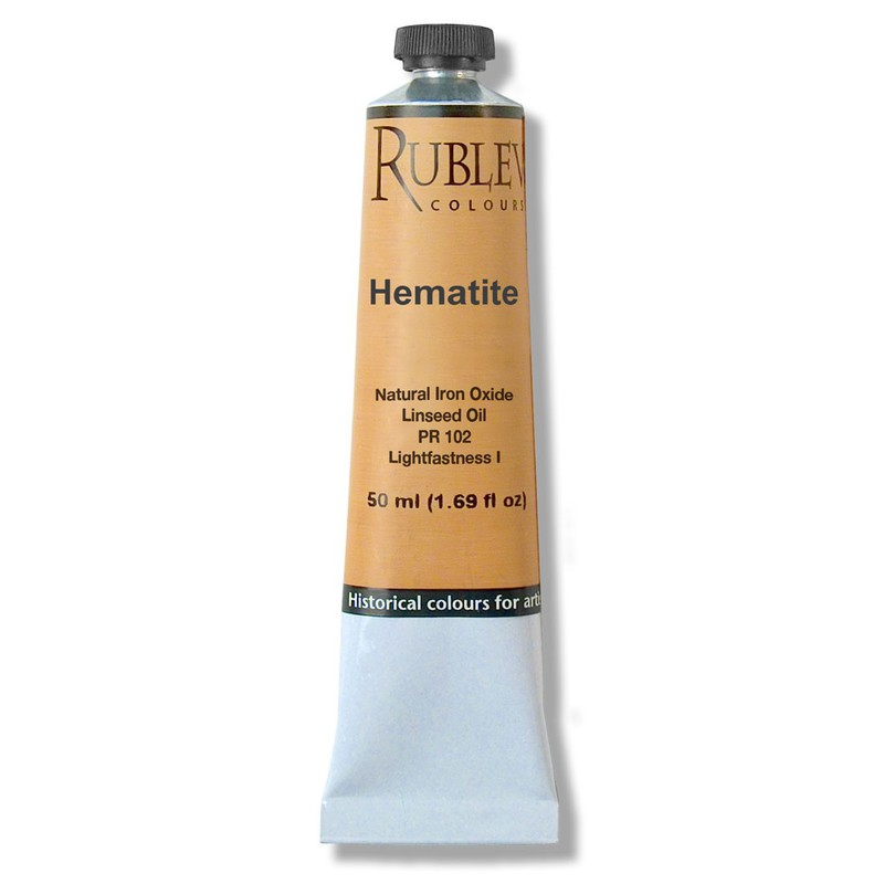 Rublev Colours Hematite Artists Oil (50 ml)