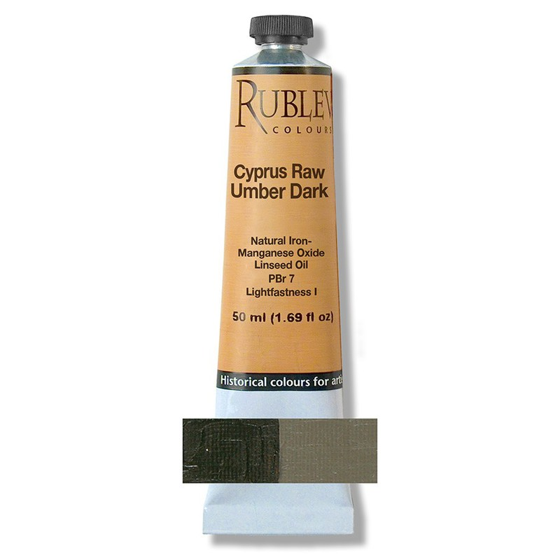 Cyprus Raw Umber Dark 50 ml
