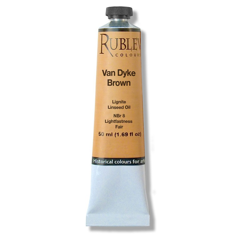 Rublev Colours Van Dyke Artists Oil (50 ml)