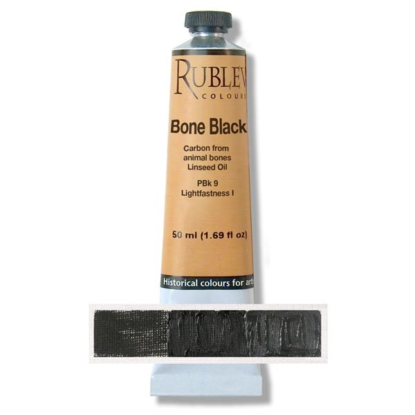 Rublev Colours Blue Black Artists Oil (130 ml)