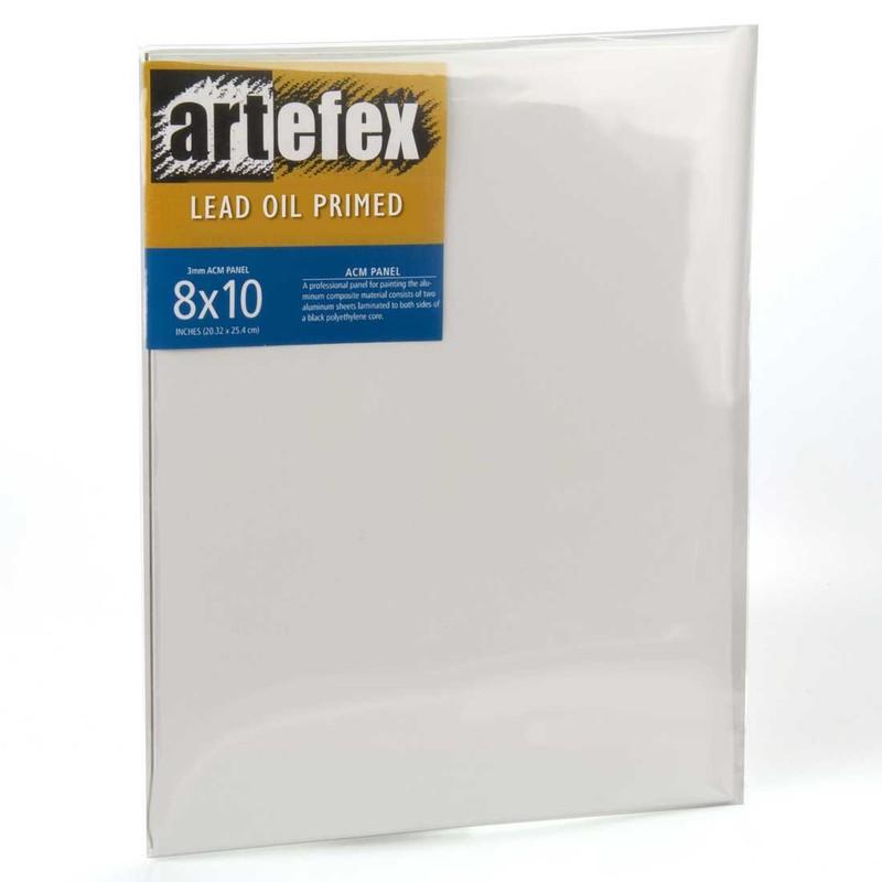 Artefex Allinpanel Lead Oil-Primed Linen ACM Panel