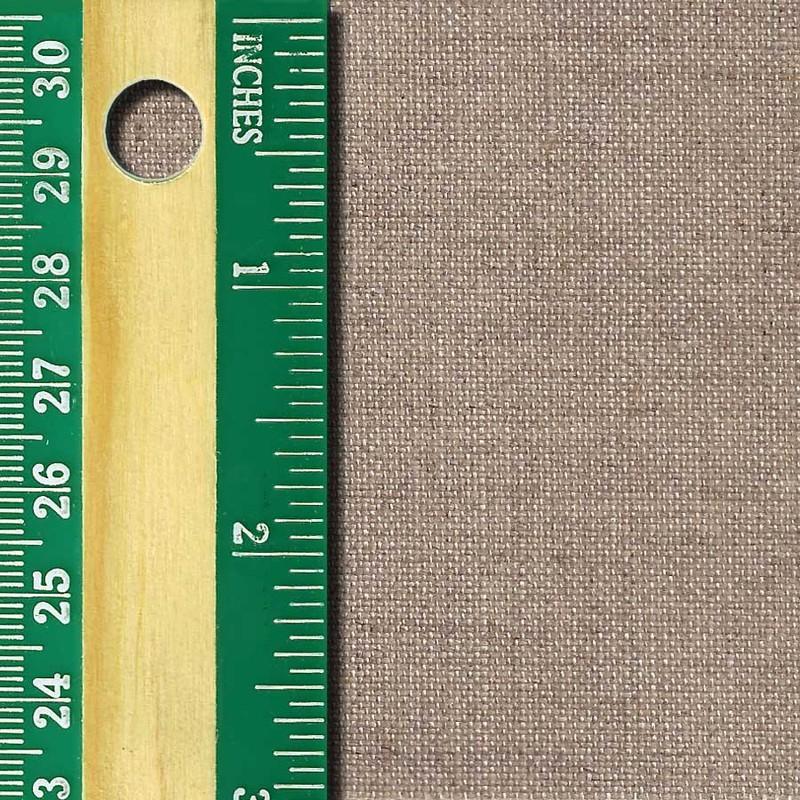 Linen Canvas Roll, Medium, unprimed side