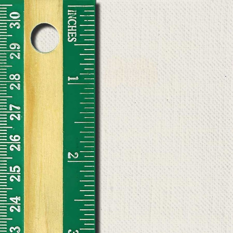 Linen Canvas Roll, Fine, oil-primed side
