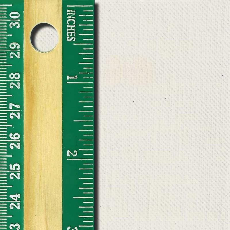 Linen Canvas Roll, Fine, oil-primed side