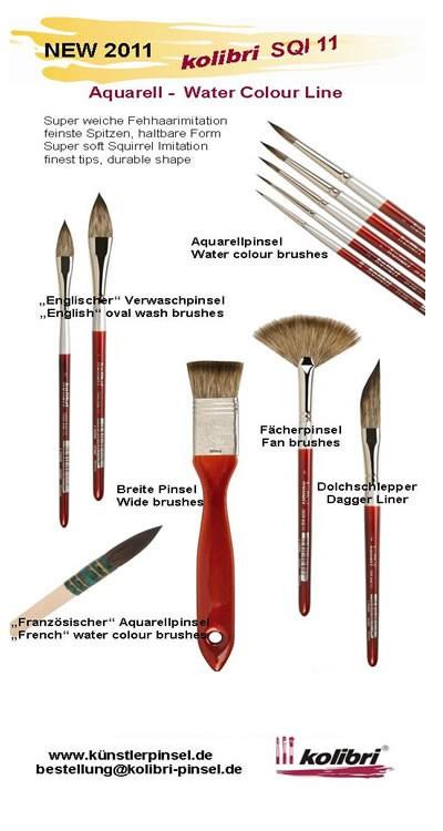 Dagger Pinstriping Brush Size 2/0