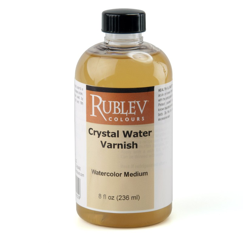 Crystal Water Varnish (8 fl oz)