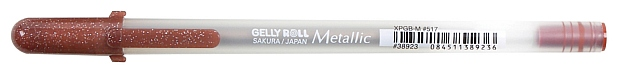 Gelly Roll Metallic Gel Pen: Sepia