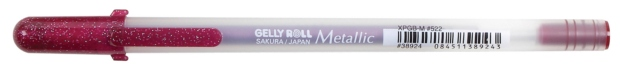Gelly Roll Metallic Gel Pen: Burgundy
