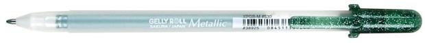 Gelly Roll Metallic Gel Pen: Hunter Green