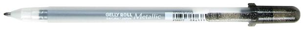 Gelly Roll Metallic Gel Pen: Black