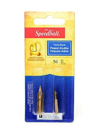 Speedball Calligraphy Pen Nib: No. 56, Pack of 2