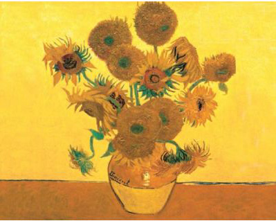 Reeves Artist Collection Painting by Numbers Advanced Range: Sunflowers, Large